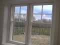 2-pane horizontal slider window