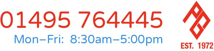 Telephone 01495 764445